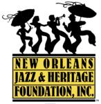 New Orleans Jazz and Heritage Foundation Sponsor Logo