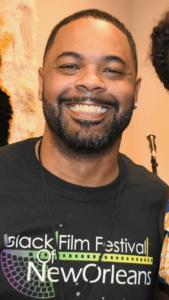 Gian Smith, Festival Director for the Black Film Festival of New Orleans