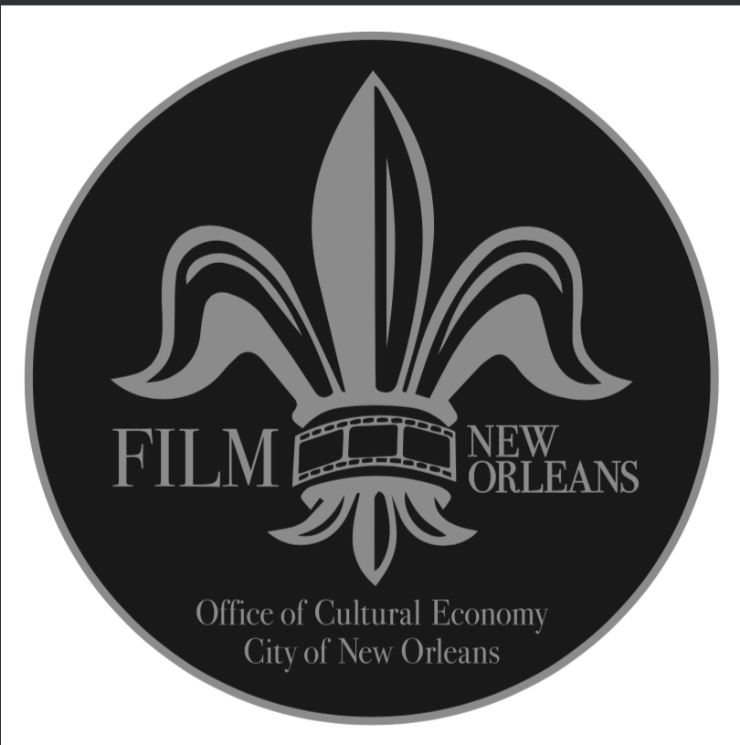 Film New Orleans Office of Cultural Economy, City of New Orleans logo