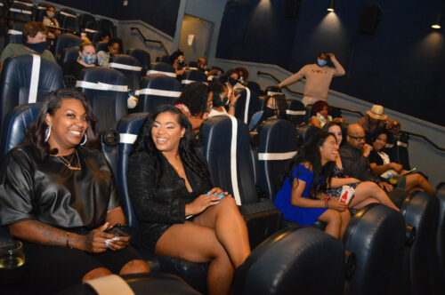 Photo of the seated audience at the Black Film Festival of New Orleans